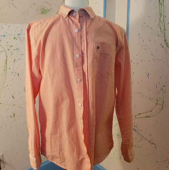 Tommy Hilfiger Other - Tommy Hilfiger Button Down Shirt - Size 14/16